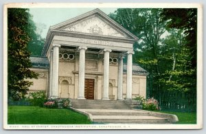 Chautauqua NY~Chautauqua Institution~Hall of Christ~Detroit Publishing #81269 PC