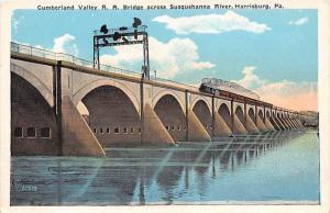 6593  PA Harrisburg  Cumberland Valley, R.R. Bridge