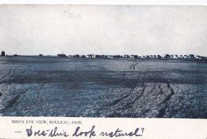 ROULEAU , Saskatchewan , Canada , 1912 ; Bird's Eye View