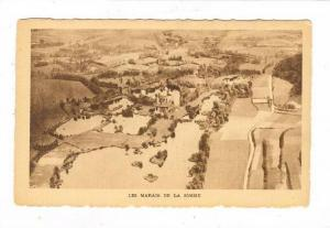 Aerial View, Les Marais De La Somme, France, 1900-1910s