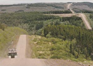 View near Trutch Mountain, Calgary, Alberta, Canada, 50-70s