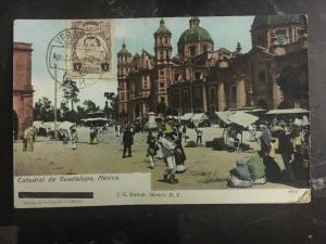 1921 Veracruz Mexico Real Picture RPPC Cathedral Of Guadalupe Mexico City