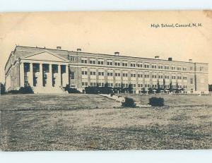 Divided-Back HIGH SCHOOL Concord New Hampshire NH k0575