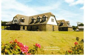 postcard Cornwall Lostwithiel Golf & Country Club, LOWER POLSCOE,  unposted