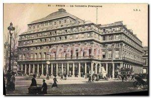Old Postcard Paris La Comedie Francaise