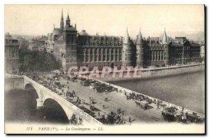 Postcard Old Paris Ve the Conciergerie