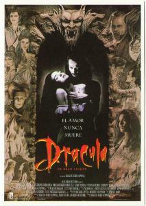 Postcard of Bram Stoker's Dracula Movie Spanish
