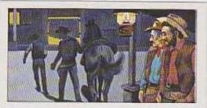 Burtons Vintage Trade Card 1972 The West No 19 Cattle Town