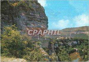 Postcard Modern Surroundings of St Antonin Noble Val (Tarn et Garonne) Touris...