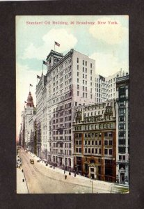 NY Standard Oil Building Bldg Broadway New York City Postcard NYC