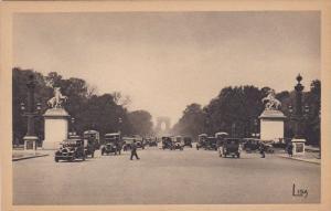 Les Chevaux De Marly Et Les Champs-Elysees, PARIS, France, 1900-1910s