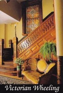 The Stunning Front Entrance Hallway Of The 1885 Holiday Schaeffer House Victo...