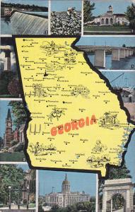 Map Of Georgia 1948