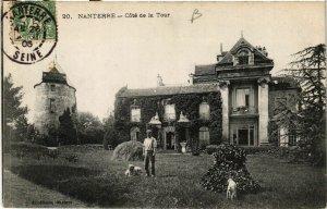 CPA NANTERRE - Cote de la Tour (581780)