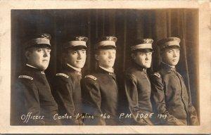 1909 RPPC Moline Illinois IOOF Officers Canton 60 Patriarchs Militant Real Photo