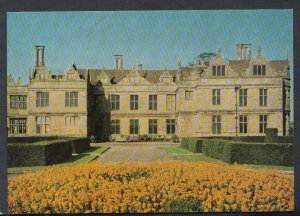 Northamptonshire Postcard - Kirby Hall, View From The South     T4269