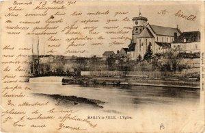 CPA  Mailly-la-Ville - L'Eglise    (658726)