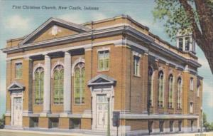 First Christian Church New Castle Indiana Curteich