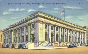 Hudson County Post Office Jersey City NJ Unused
