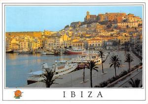Spain Ibiza Port Boats Harbour Bateaux Hafen Promenade