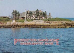 President Bush Summer Home Kennebunkport Maine 1991