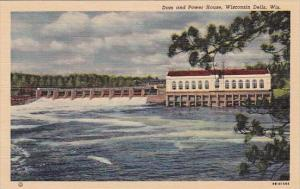 Dam And Power House Wisconsin Dells Wisconsin