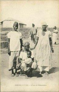 CPA AK Sénégal - Scénes et Types - Groupe de Sénégalaises (84680)