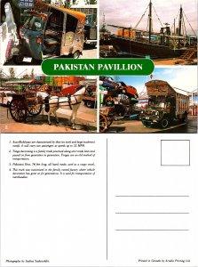 Pakistan Pavillion, Multi-Views