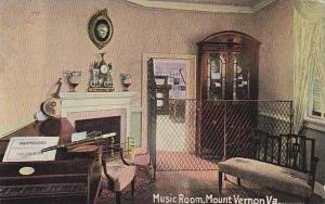 Virginia Mt.Vernon The Music Room Home Of Washington