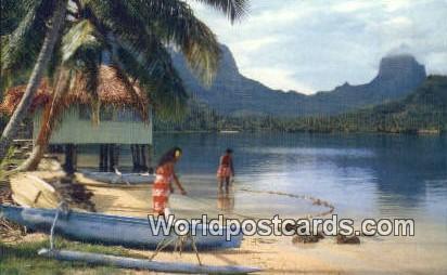Tahiti French Polynesia Paopao Bay, Cook's Bay Tahiti Paopao Bay, Cook's Bay