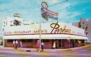 Florida Miami Beach Parham's Restaurant 73rd and Collins Avenue
