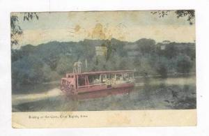 Boating On The Coon, Coon Rapids, Iowa, PU-1908