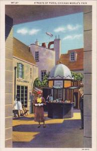 Streets Of Paris Chicago World's Fair 1933