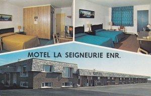 ST. JEAN-PORT JOLI , Quebec , Canada , 50-60s ; Motel La Seigneurie Enr.