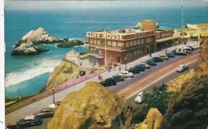 California San Francisco Cliff House and Seal Rocks 1959
