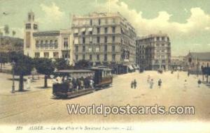 Alger Algeria, Africa, La Rue d'Isly et le Boulevard Laferriere  La Rue d'Isl...