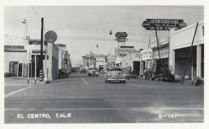 RP: EL CENTRO , California , 1940s ; Main Street