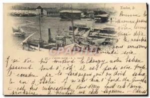 Old Postcard Steam Bagnard Toulon L & # 39ancien prison