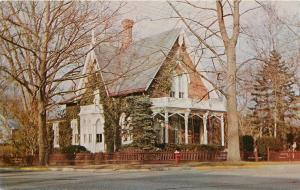 Old Hartson House Vineland New Jersey NJ English Manor Postcard