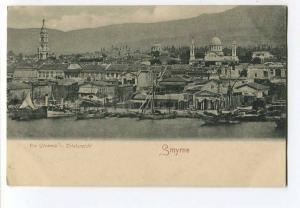 262193 Turkey SMYRNE IZMIR general view Vintage postcard