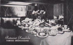 New York City Restaurant Kungsholm Famous Smorgasbord