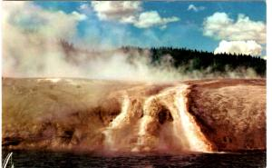 Haynes 51 SERIES #114, Overflow of Excelsior, Yellowstone National Park