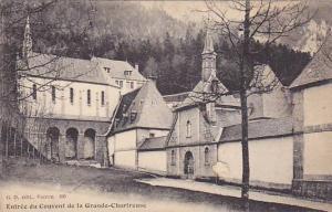 Entree du Couvent de la Grande-Chartreuse, Grenoble, Isere, France, 00-10s