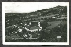 2131 - AUSTRIA Schlirrbach 1940 Aerial View Real Photo Postcard