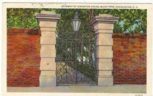 Gateway of Simonton House, Charleston, South Carolina, 30-40s