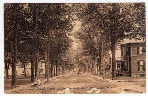 Cobleskill, N.Y., Grand Street looking toward Main