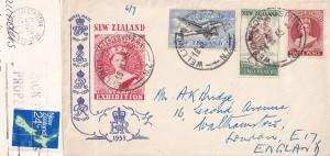 Wellington Hospital Stamp Exhibition Postmark 1965 New Zealand FDC & More