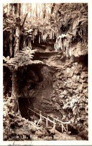 Hawaii National Park Lava Tube 1938 Real Photo