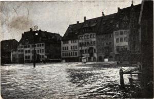CPA AK Nürnberg Hauptmarkt  Hochwasser GERMANY (644643)