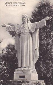 Illinois Warrenville Sacred Heart Grotto Cenacle Retreat House Artvue